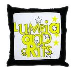 Lumpia & Grits Throw Pillow