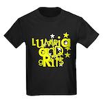 Lumpia & Grits Kids Dark T-Shirt