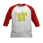Lumpia & Grits Kids Baseball Jersey