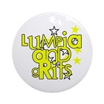 Lumpia & Grits Ornament (Round)