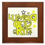Lumpia & Grits Framed Tile