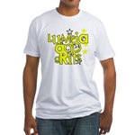 Lumpia & Grits Fitted T-Shirt