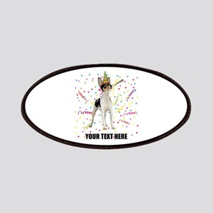 Custom Toy Fox Terrier Birthday Patch