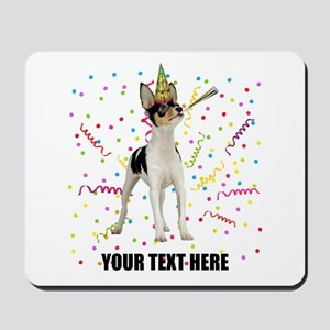 Custom Toy Fox Terrier Birthday Mousepad