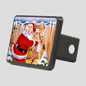 Santa Claus brings his reindeers Hitch Cover
