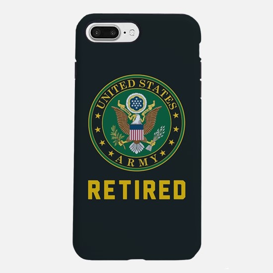 Army Retired iPhone 8/7 Plus Tough Case