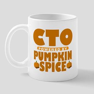 CTO Powered by Pumpkin Spice Mug