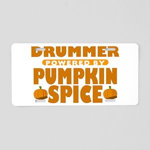 Drummer Powered by Pumpkin Spice Aluminum License