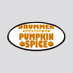 Drummer Powered by Pumpkin Spice Patches