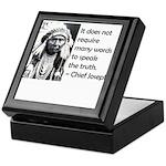 Truth Quote Keepsake Box
