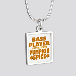 Bass Player Powered by Pumpkin Spice Silver Square