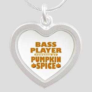 Bass Player Powered by Pumpkin Spice Silver Heart
