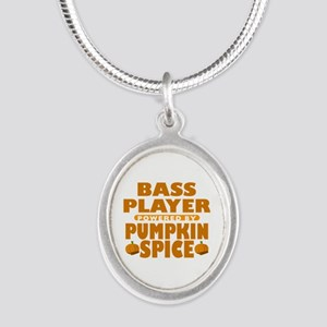Bass Player Powered by Pumpkin Spice Silver Oval N