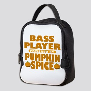 Bass Player Powered by Pumpkin Spice Neoprene Lunc