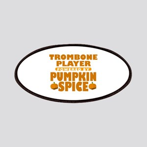 Trombone Player Powered by Pumpkin Spice Patches