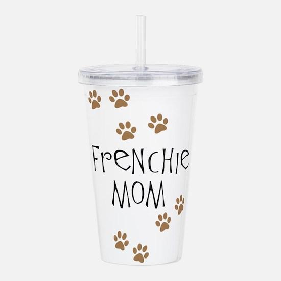 Frenchie Mom Acrylic Double-wall Tumbler