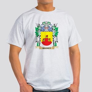 Becket Coat of Arms - Family Cr T-Shirt