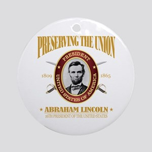 Lincoln (PTU) Round Ornament