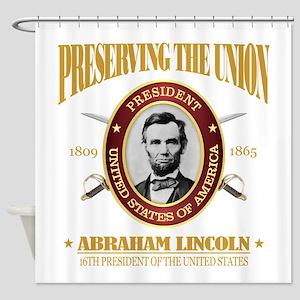 Lincoln (PTU) Shower Curtain