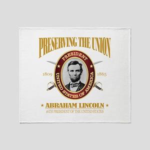 Lincoln (PTU) Throw Blanket