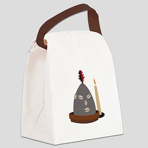 Elegua Statue Canvas Lunch Bag