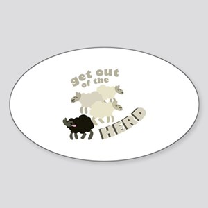 Out Of Herd Sticker