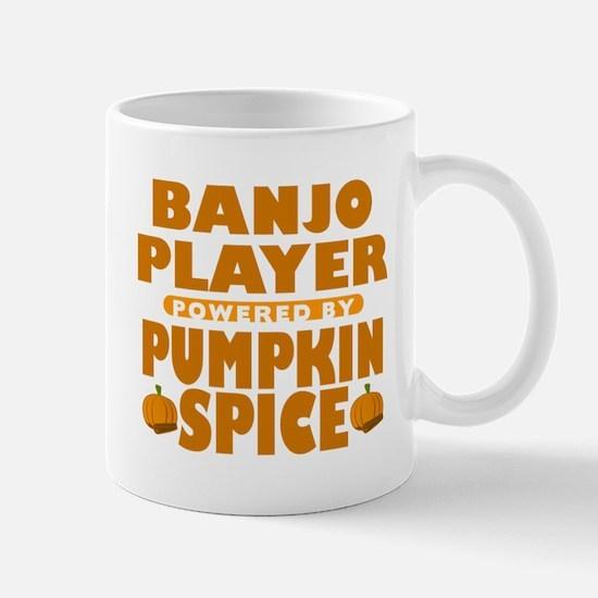 Banjo PLayer Powered by Pumpkin Spice Mug