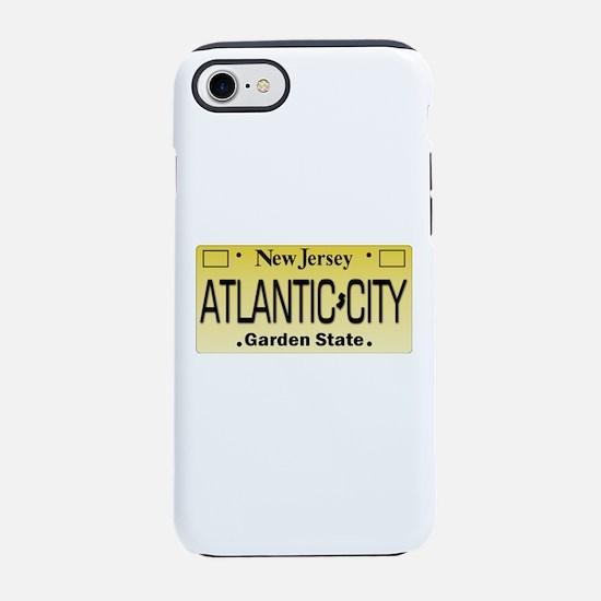 Atlantic City NJ Tag Giftwar iPhone 8/7 Tough Case