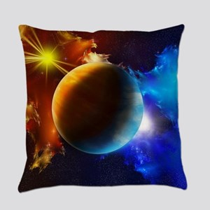 Planet And Space Everyday Pillow