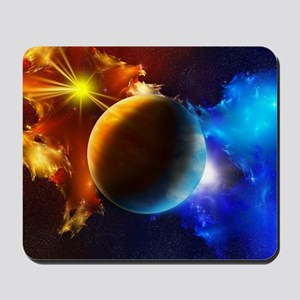 Planet And Space Mousepad