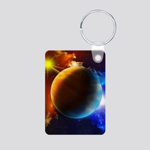 Planet And Space Keychains