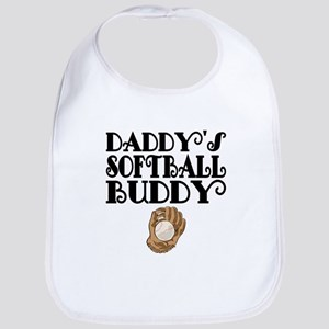 Daddys Softball Buddy Bib