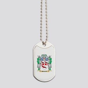 Begley Coat of Arms - Family Crest Dog Tags