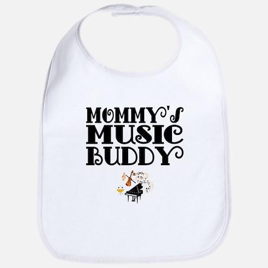 Mommys Music Buddy Bib