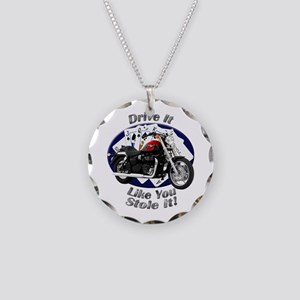 Triumph Speedmaster Necklace Circle Charm