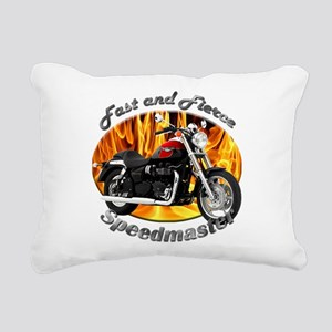 Triumph Speedmaster Rectangular Canvas Pillow
