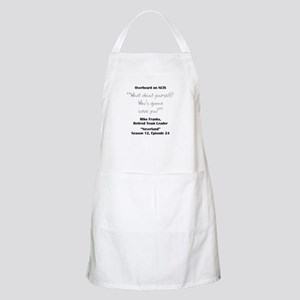 WHO IS GONNA SAVE YOU? Apron