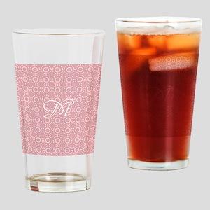 Chic Divine Pink Drinking Glass
