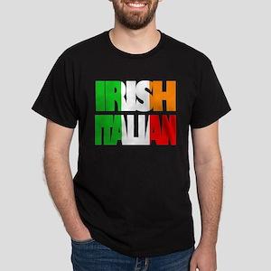 Irish Italian Black T-Shirt