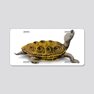 Diamondback Terrapin Aluminum License Plate