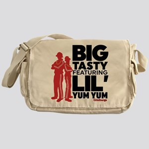Big Tasty Lil Yum Yum Goldbergs Messenger Bag