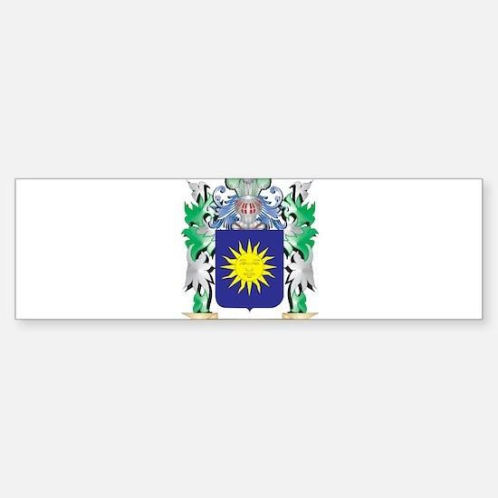 Bello Coat of Arms - Family Crest Bumper Bumper Bumper Sticker