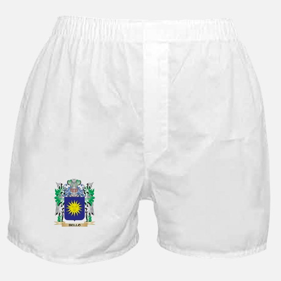 Bello Coat of Arms - Family Crest Boxer Shorts