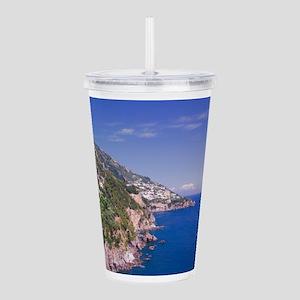 Beautiful Amalfi Coast Italy Acrylic Double-wall T