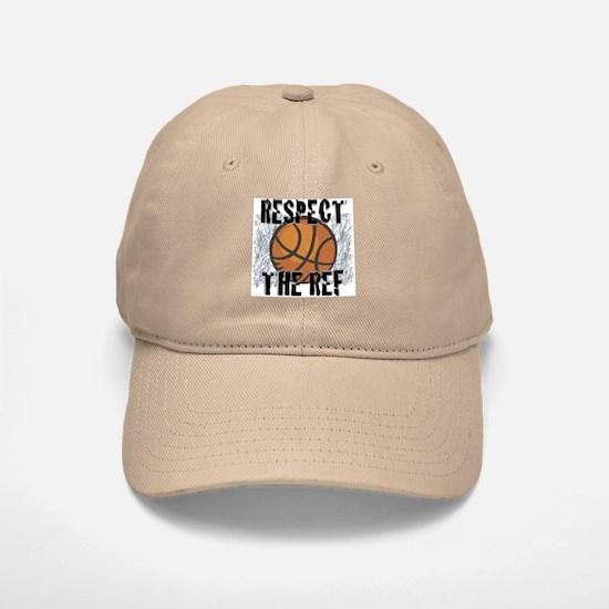 Respect the Basketball Ref Khaki Baseball Baseball Cap