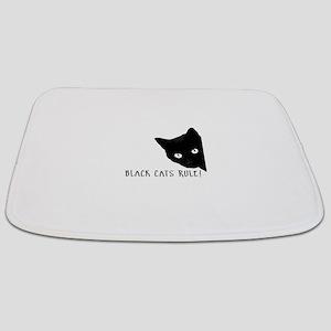 Black cats rule Bathmat