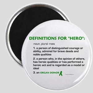HERO Definitions (Organ Donor) Magnet