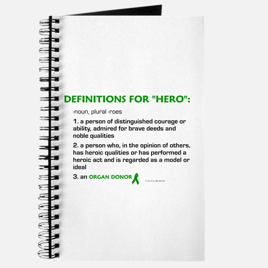 HERO Definitions (Organ Donor) Journal