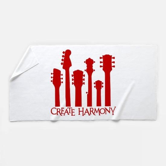 CREATE HARMONY Beach Towel