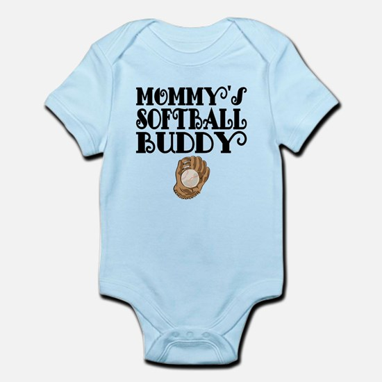 Mommys Softball Buddy Body Suit